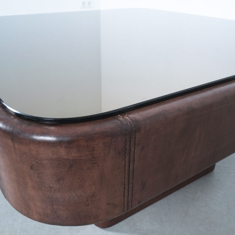 De Sede Leather Table Ds 47 08