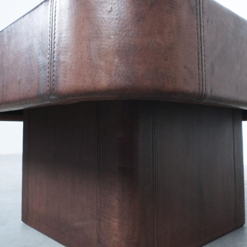 De Sede Leather Table Ds 47 09
