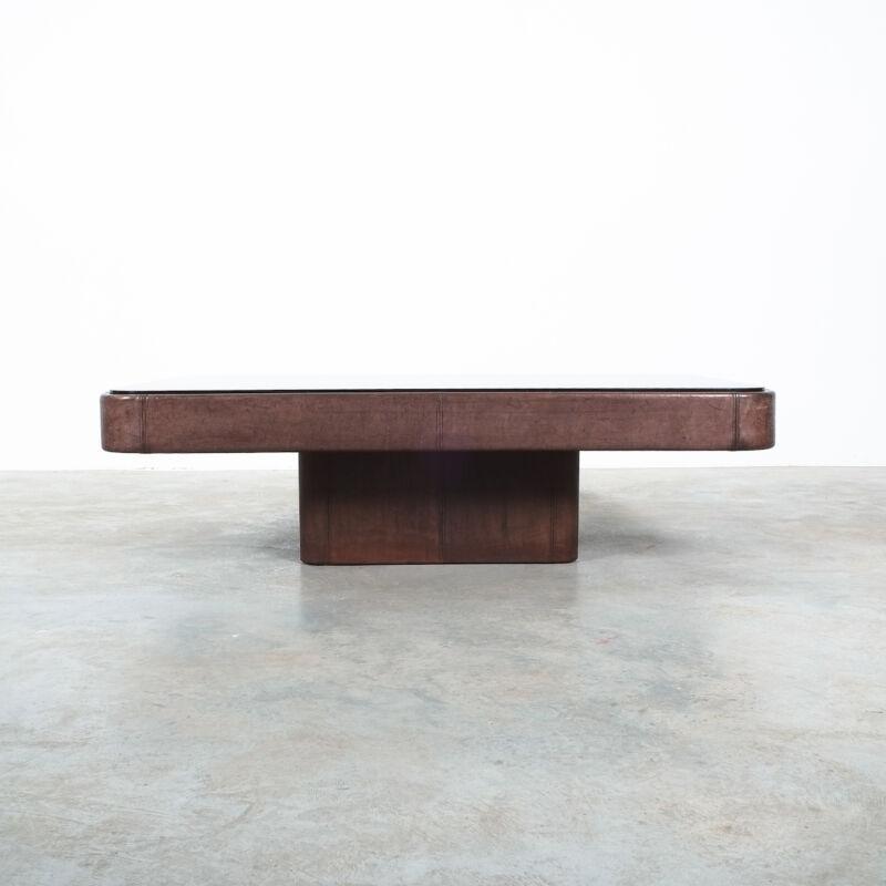 De Sede Table Ds 47 Leather Large 02