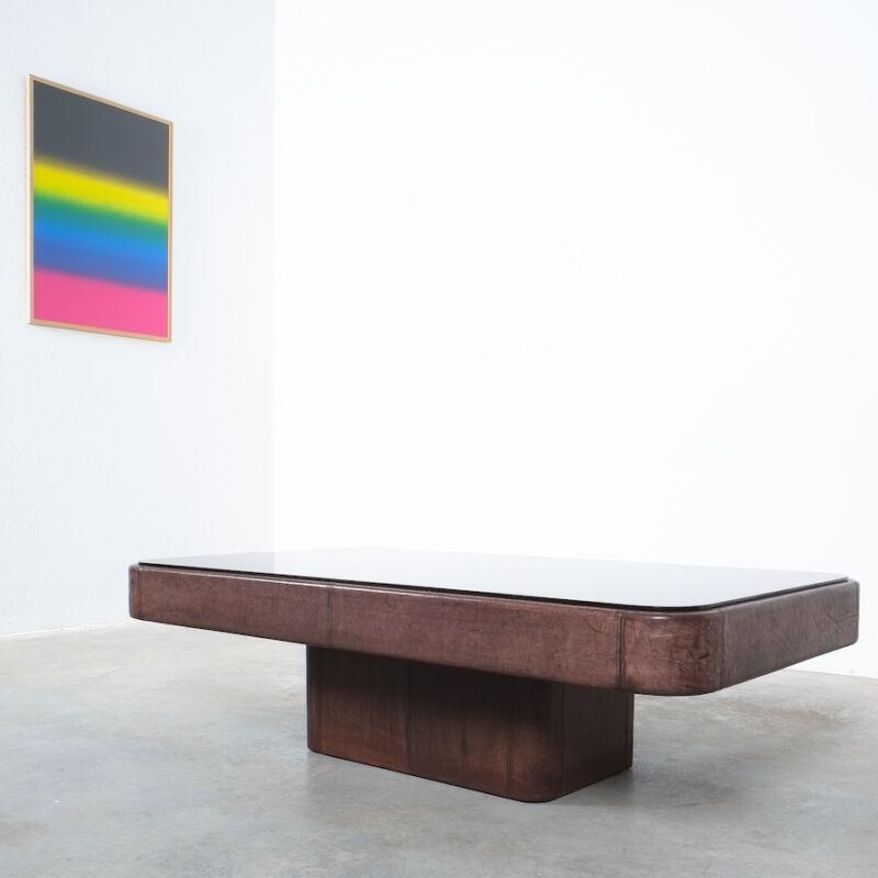 De Sede Table Ds 47 Leather Large 04
