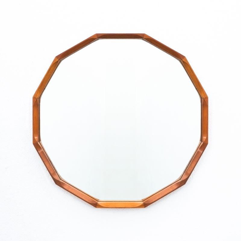 Dino Cavalli Mirror Light Walnut 01 1