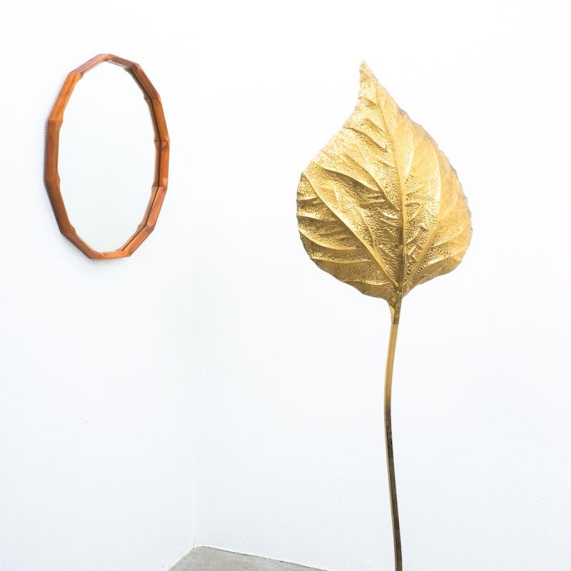 Dino Cavalli Mirror Light Walnut 05