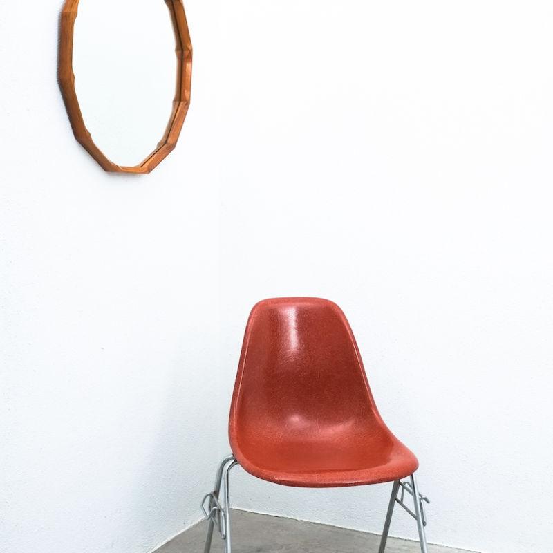Dino Cavalli Mirror Light Walnut 06