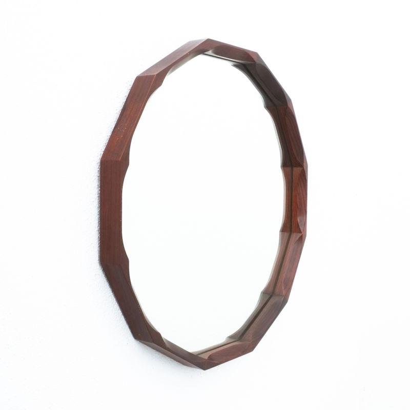 Dino Cavalli Mirror Small Walnut 02