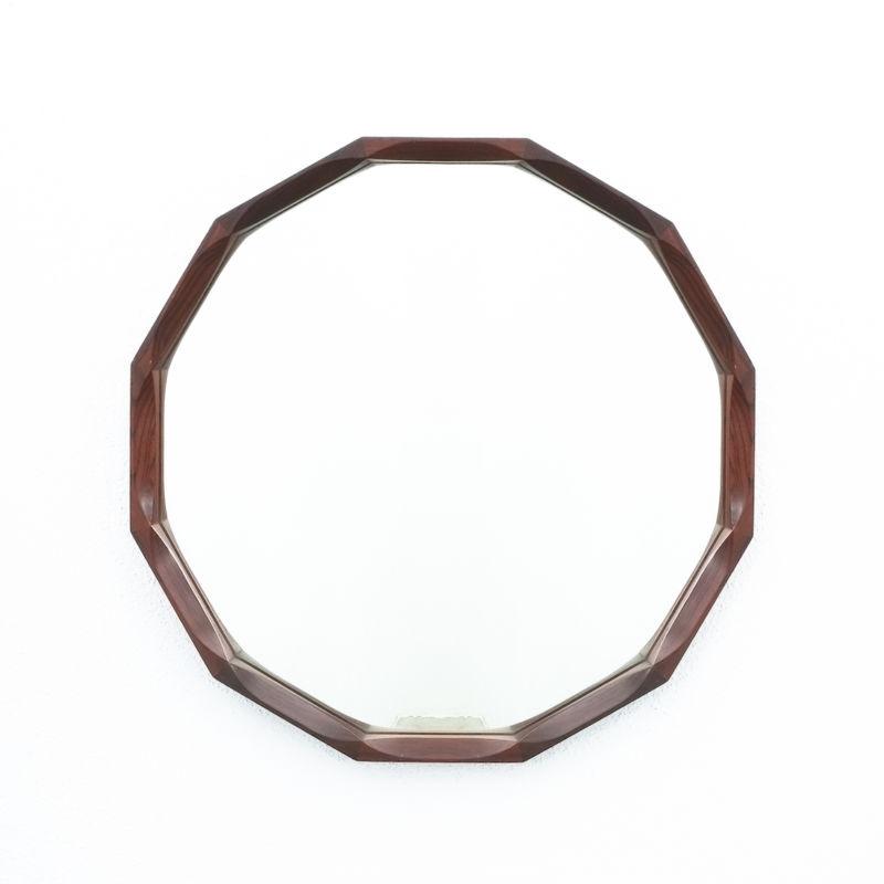 Dino Cavalli Mirror Small Walnut 04