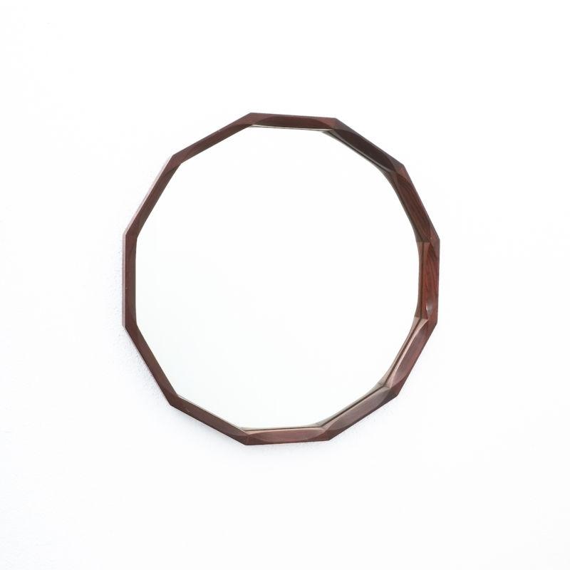 Dino Cavalli Mirror Small Walnut 05