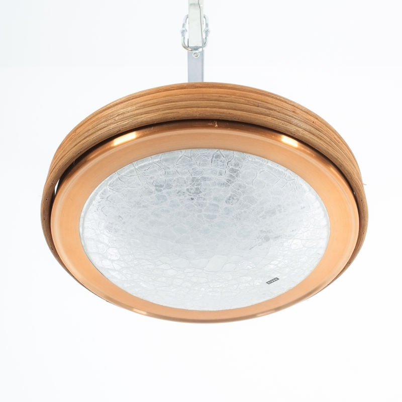 Doria Rattan Flush Mount 02
