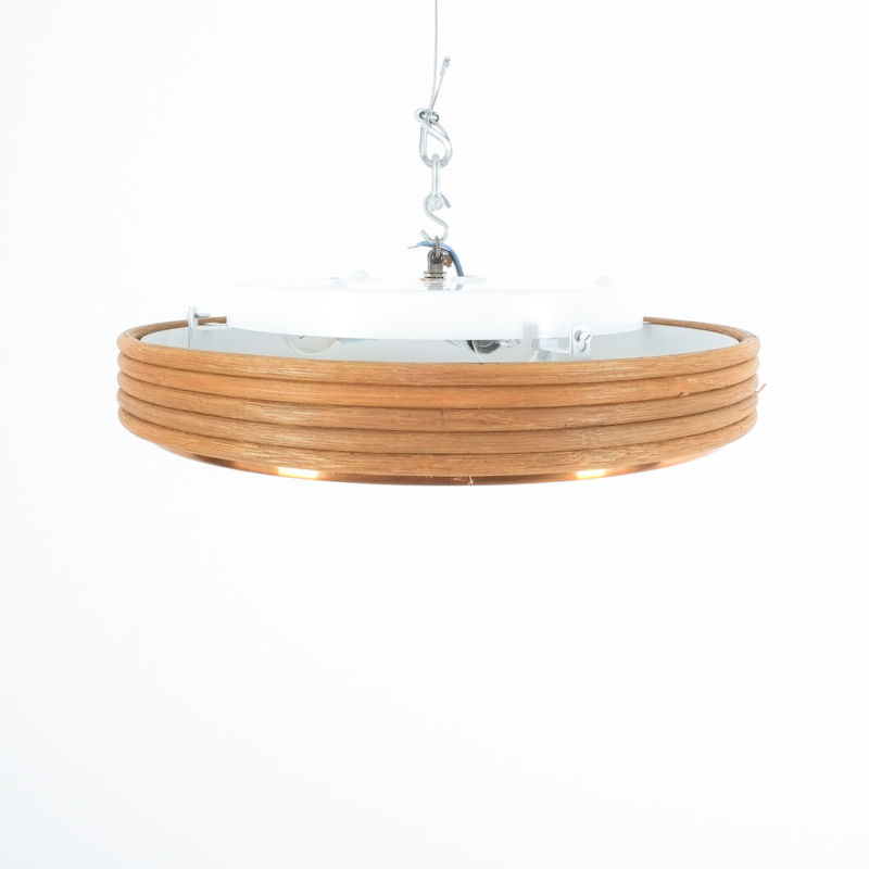 Doria Rattan Flush Mount 06