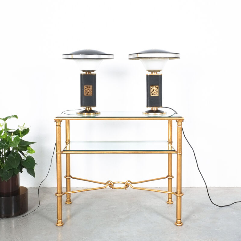 Drouet Console Table Gold 01