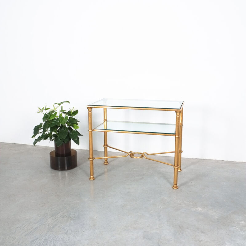Drouet Console Table Gold 02