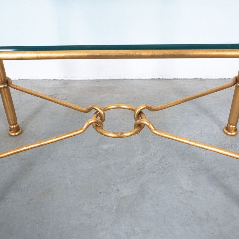 Drouet Console Table Gold 05