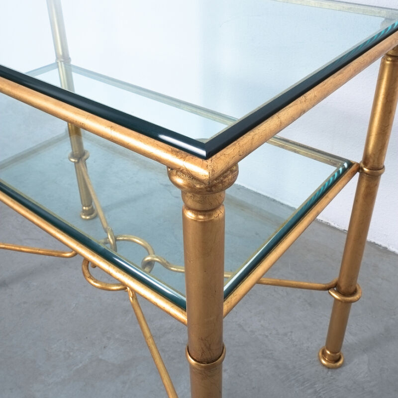 Drouet Console Table Gold 06