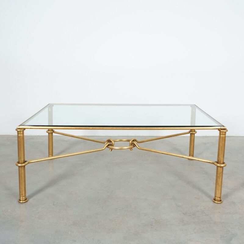 Drouet Large Iron Table Gold 02