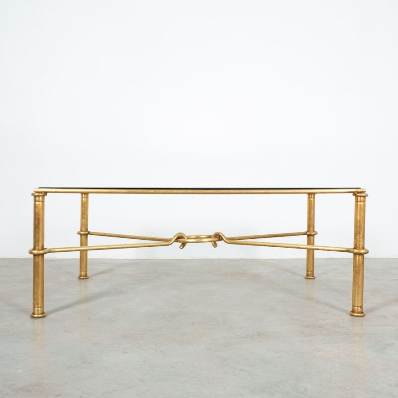 Drouet Large Iron Table Gold 03