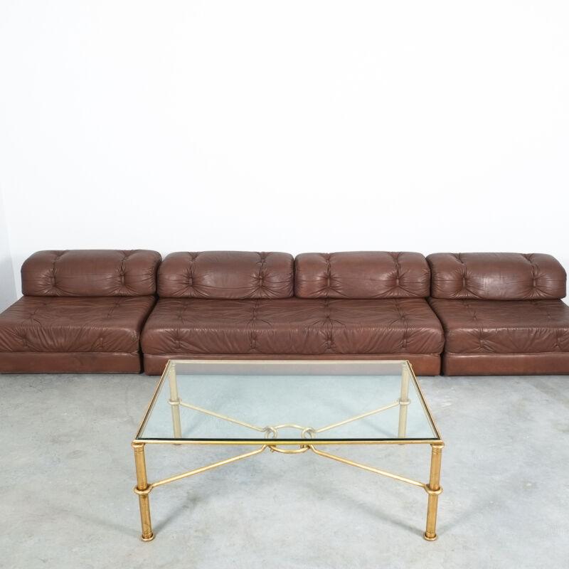 Drouet Large Iron Table Gold 06