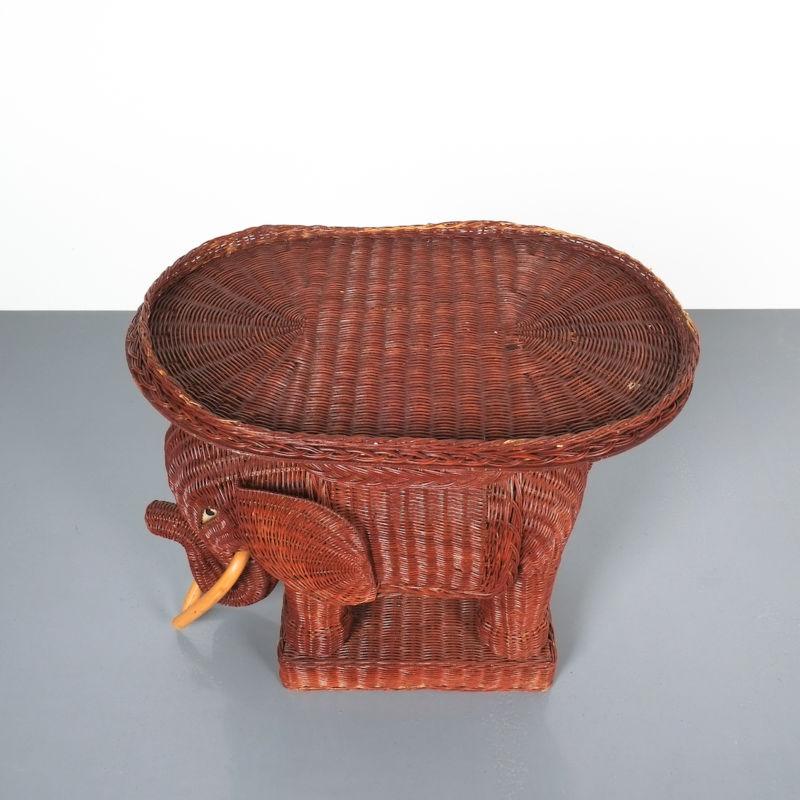 elephant wicker table_07