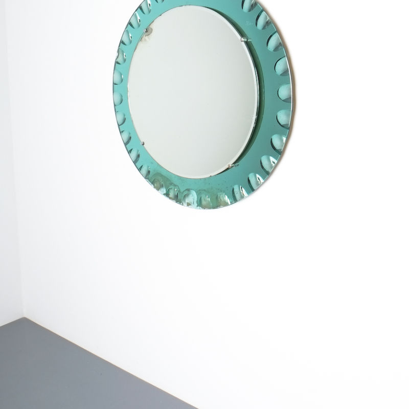 fontana arte green glass mirror bevelled_02