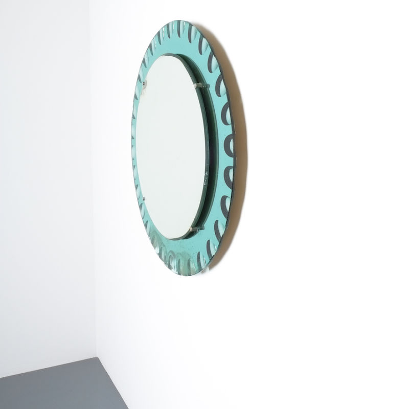 fontana arte green glass mirror bevelled_05
