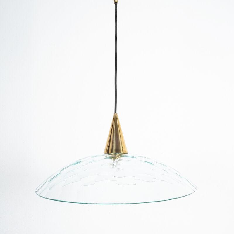 Fontana Arte Lamp Glass Brass 03