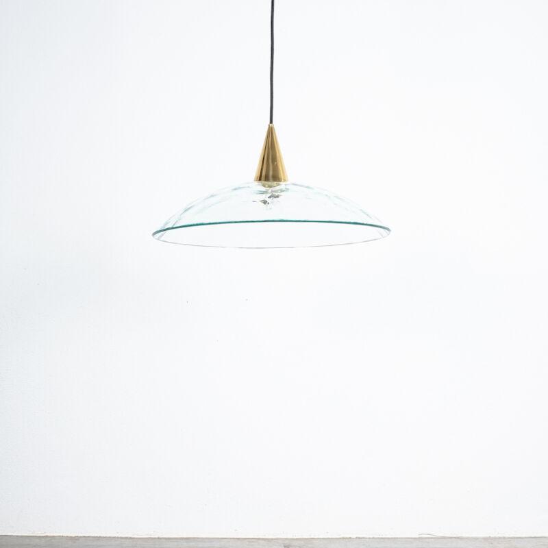 Fontana Arte Lamp Glass Brass 04
