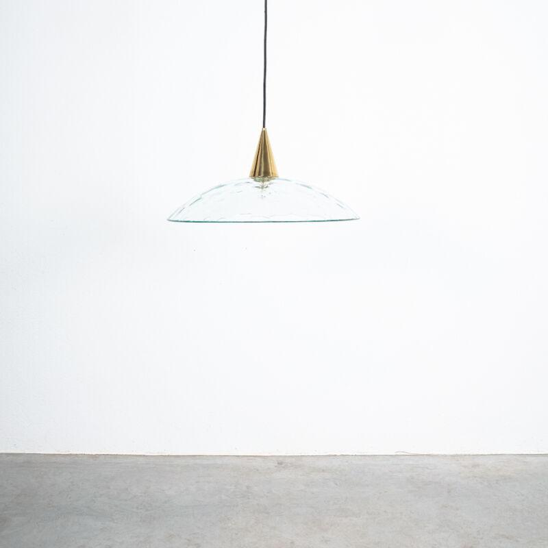 Fontana Arte Lamp Glass Brass 06