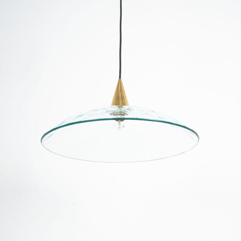 Fontana Arte Lamp Glass Brass 07