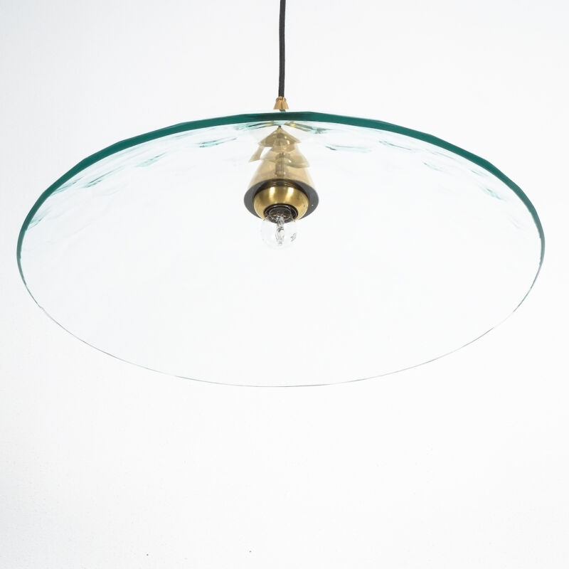 Fontana Arte Lamp Glass Brass 08