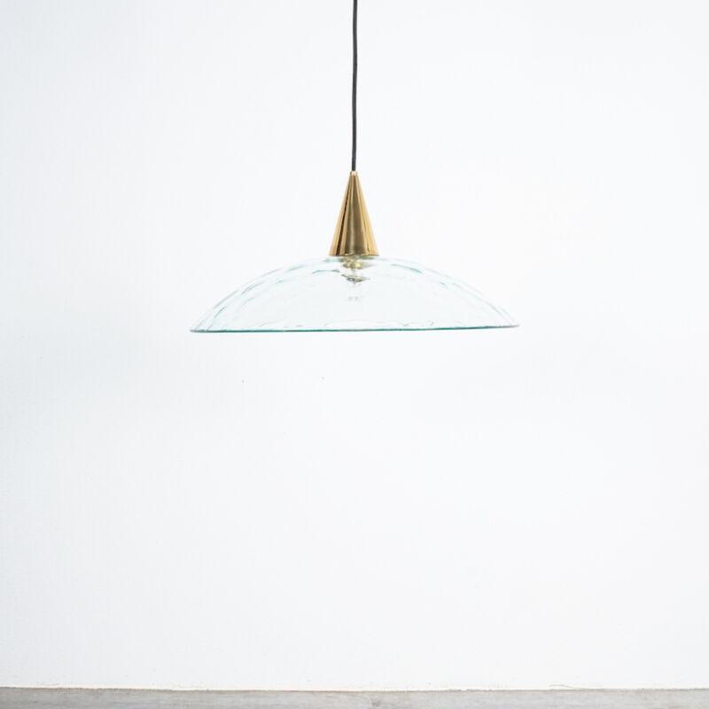 Fontana Arte Lamp Glass Brass 09