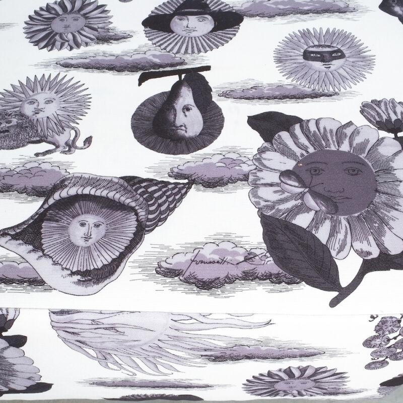 Fornasetti Fabric Pouf 1950 07