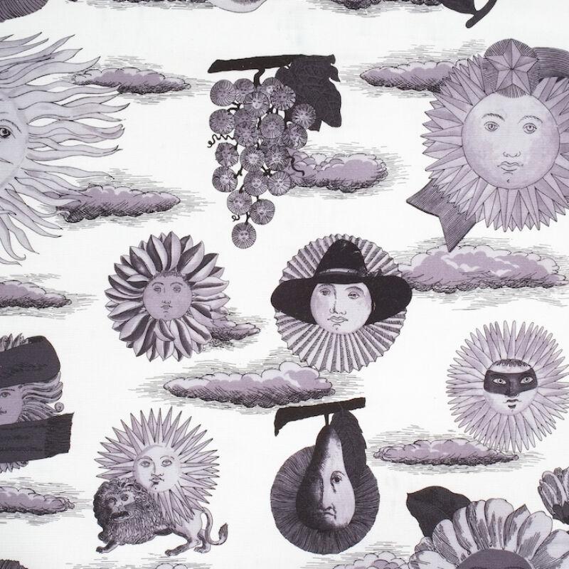 Fornasetti Fabric Pouf 1950 09