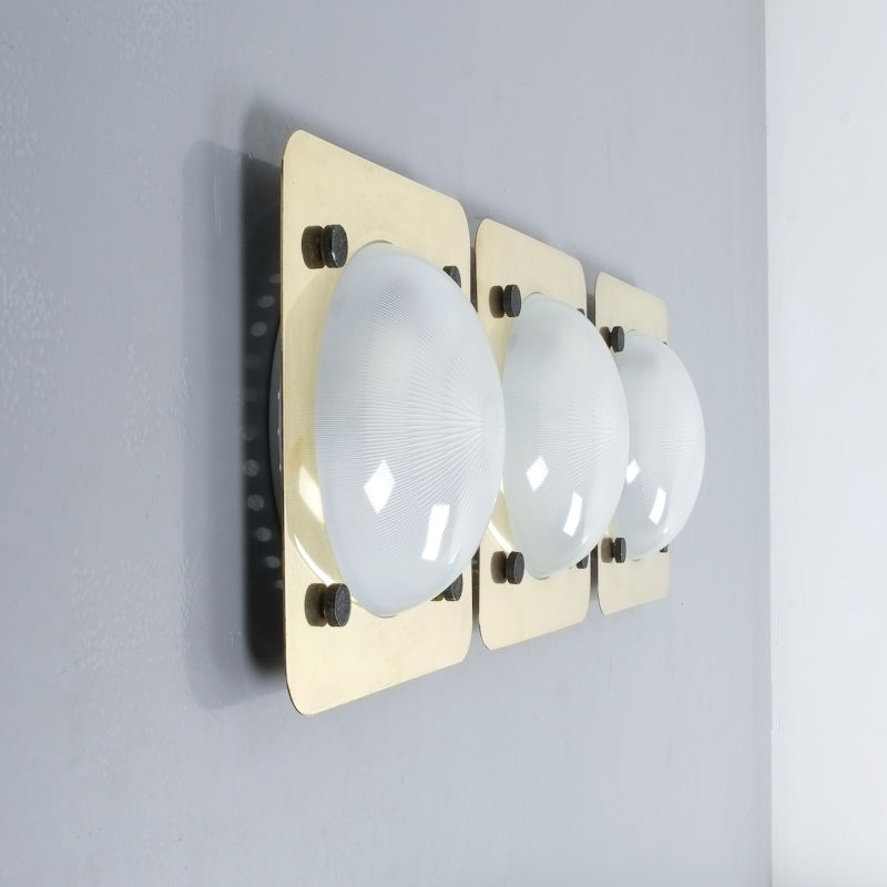 Gardella Mazza Flush Mount Brass 01