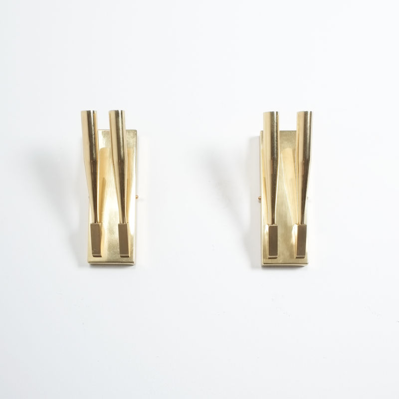 Gio Ponti Sconces Brass 06