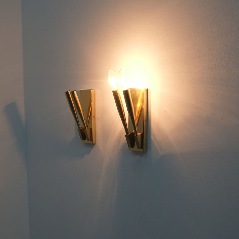 Gio Ponti Sconces Brass 08