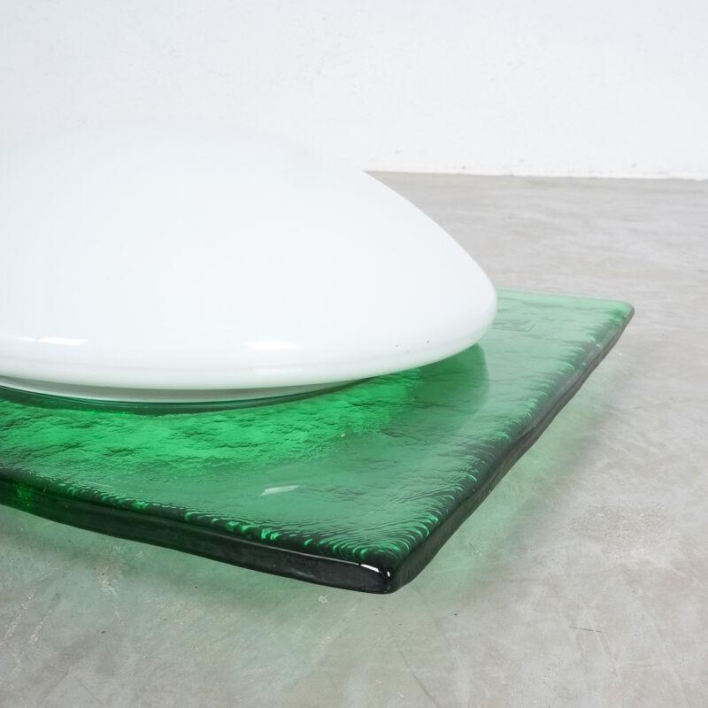 Green Murano Flush Mount Glass 04