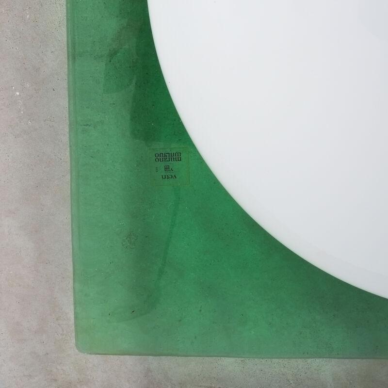 Green Murano Flush Mount Glass 08