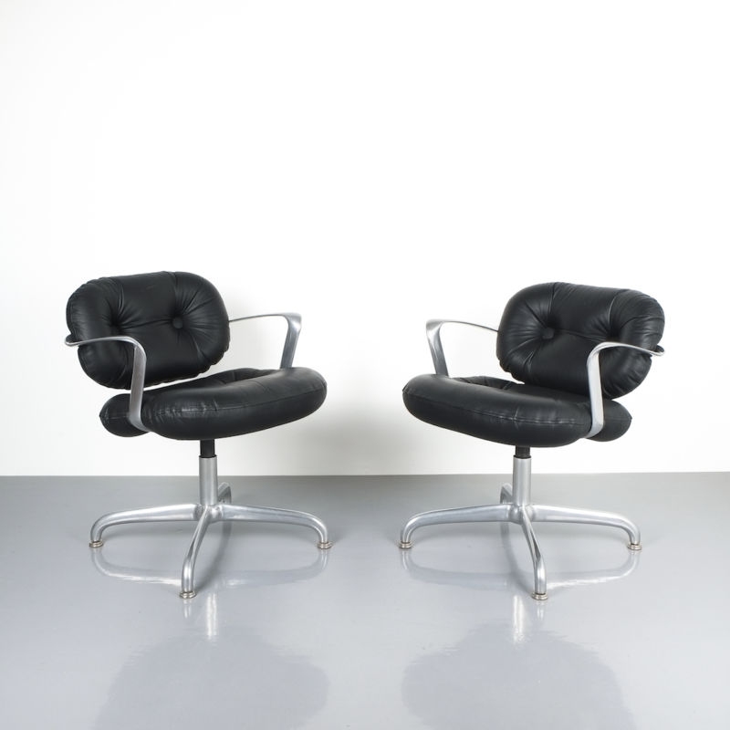 hannah morrison black leather chairs_03