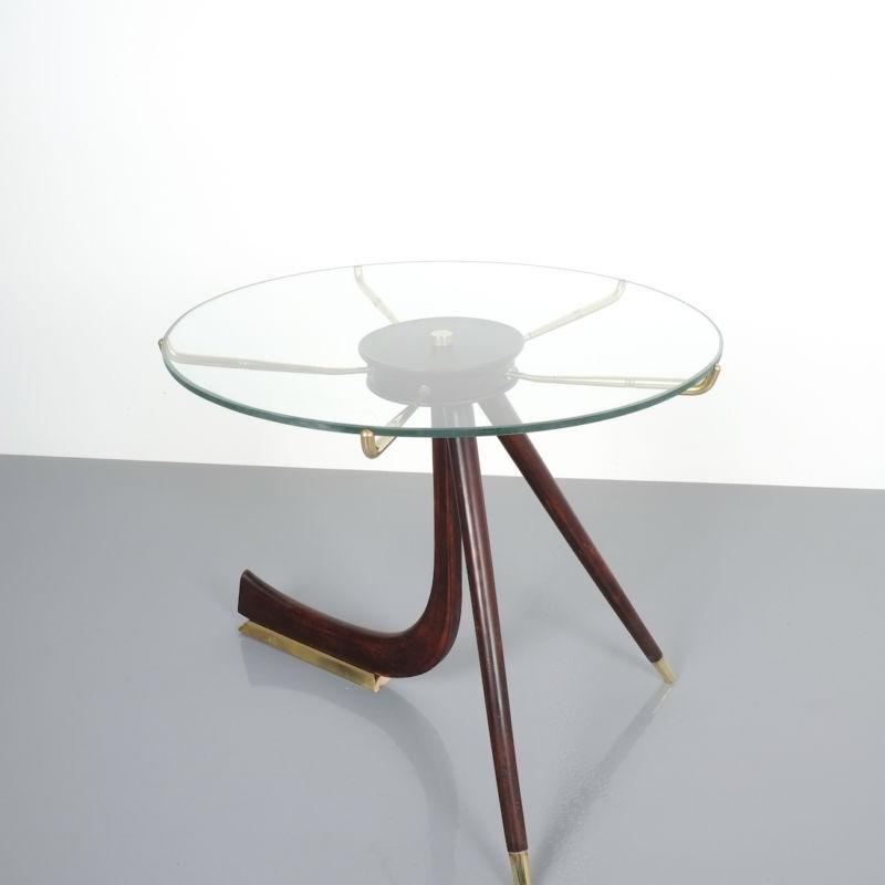 italian brass wood table brevetto_01 Kopie