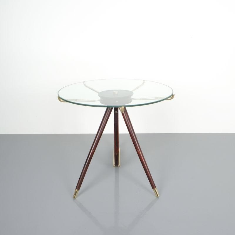 italian brass wood table brevetto_04 Kopie