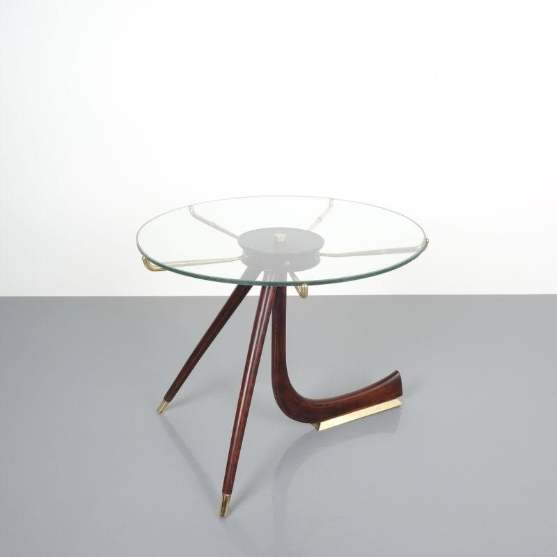 italian brass wood table brevetto_09 Kopie