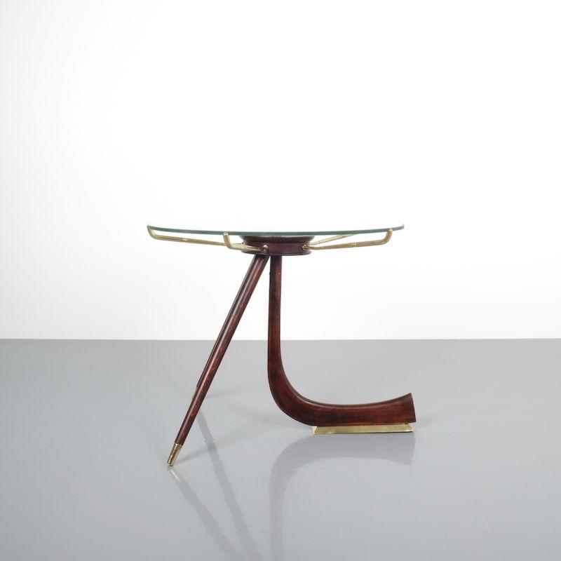 italian brass wood table brevetto_11 Kopie
