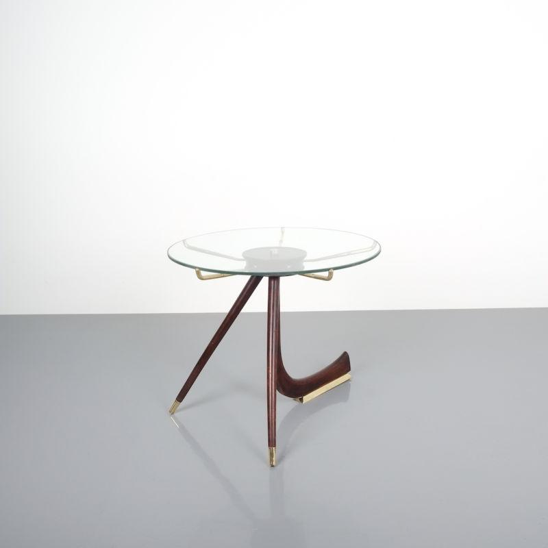 italian brass wood table brevetto_13 Kopie