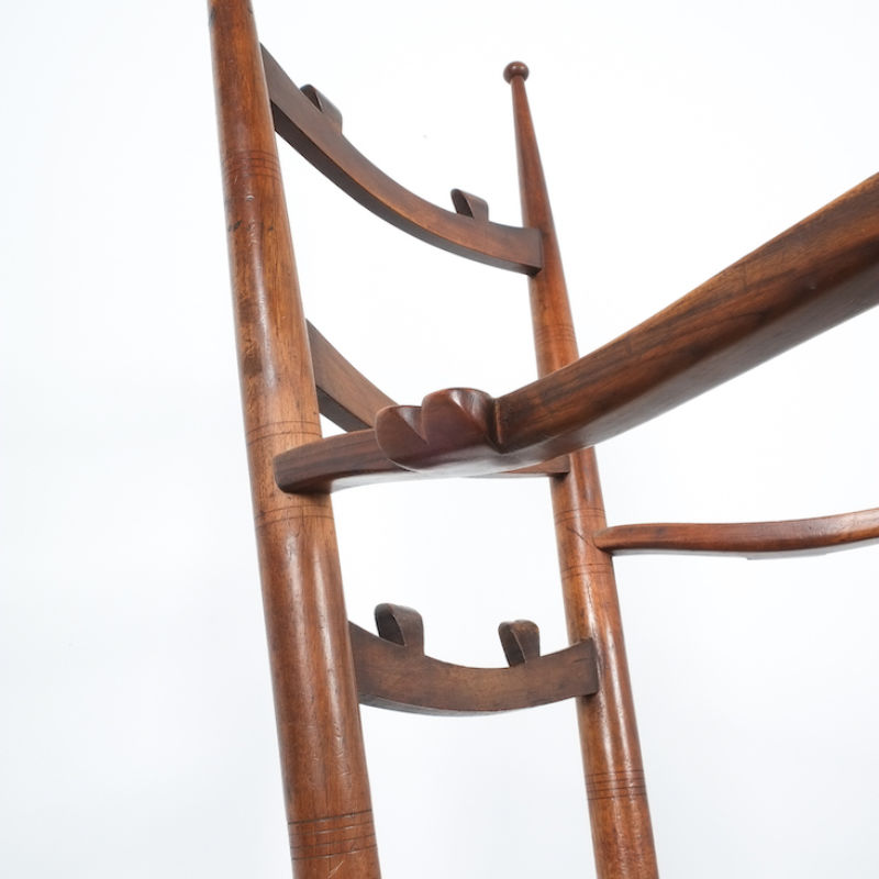 Ladderback Armchair Italy 1950 13