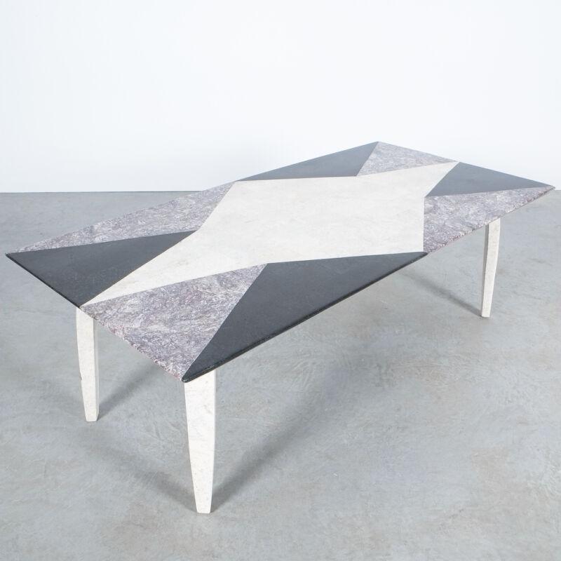 Marble Mosaic Table Big 06
