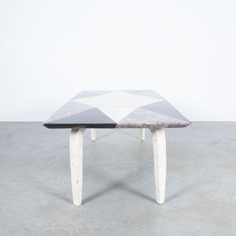 Marble Mosaic Table Big 07