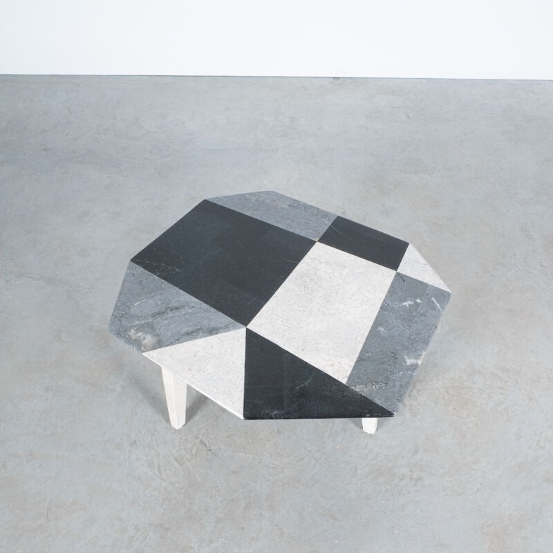 Marble Mosaic Table Small 02