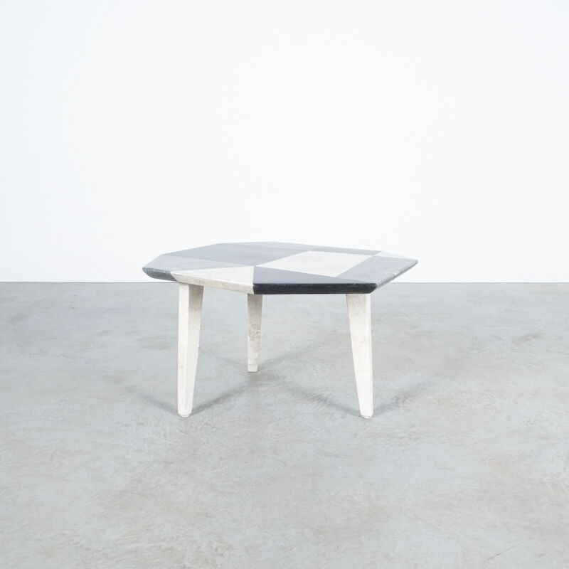 Marble Mosaic Table Small 04