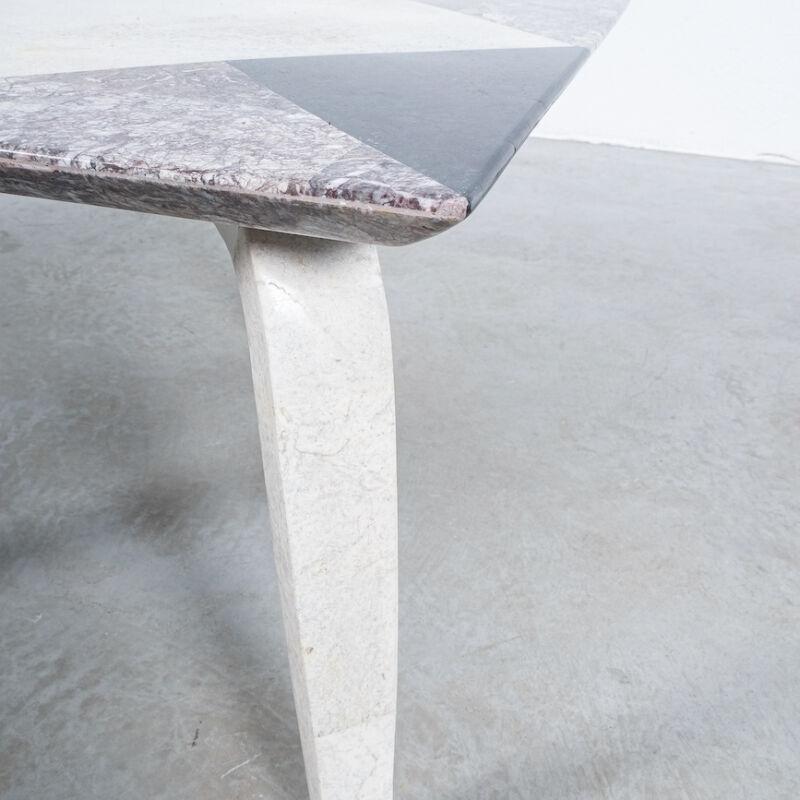 Marble Tile Tables Mosaic Pair 04