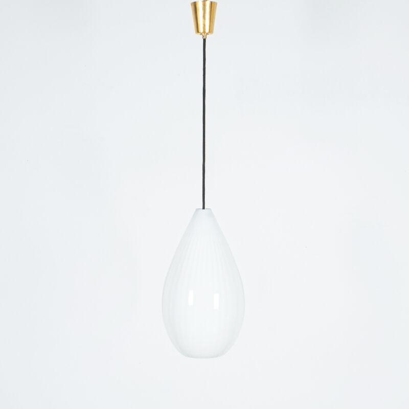Massimo Vignelli Striped Lamp Venini 02
