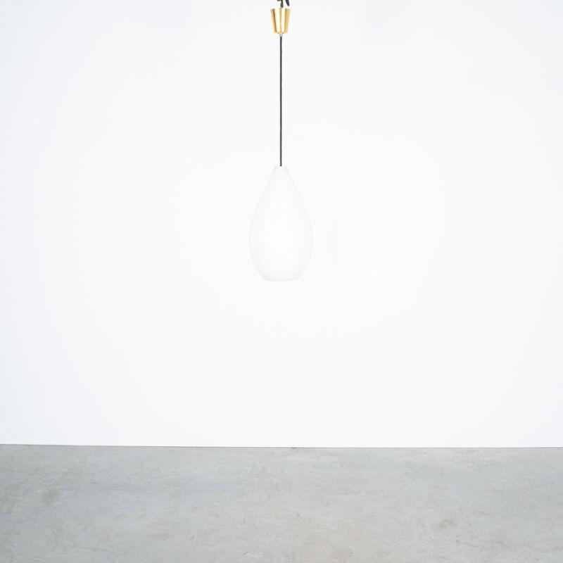Massimo Vignelli Striped Lamp Venini 09
