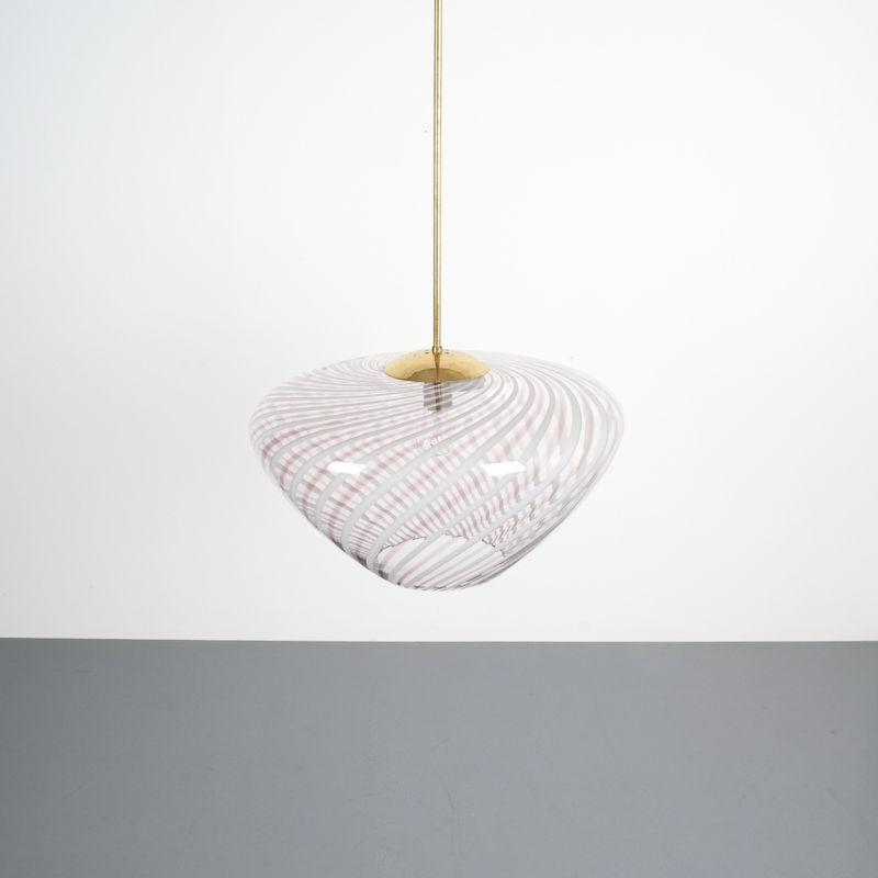 Murano Pendant Swirl Glass 02